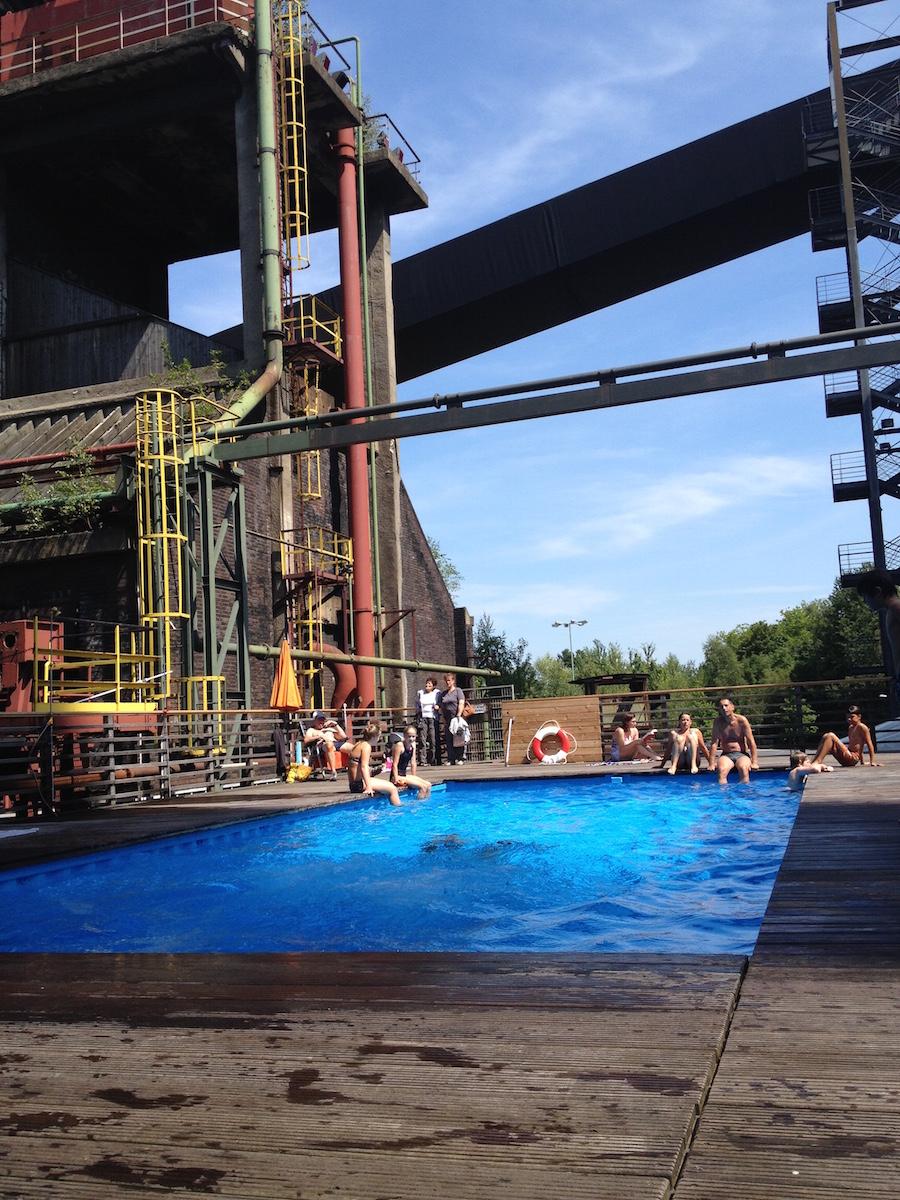 Zeche Zollverein Werksschwimmbad
