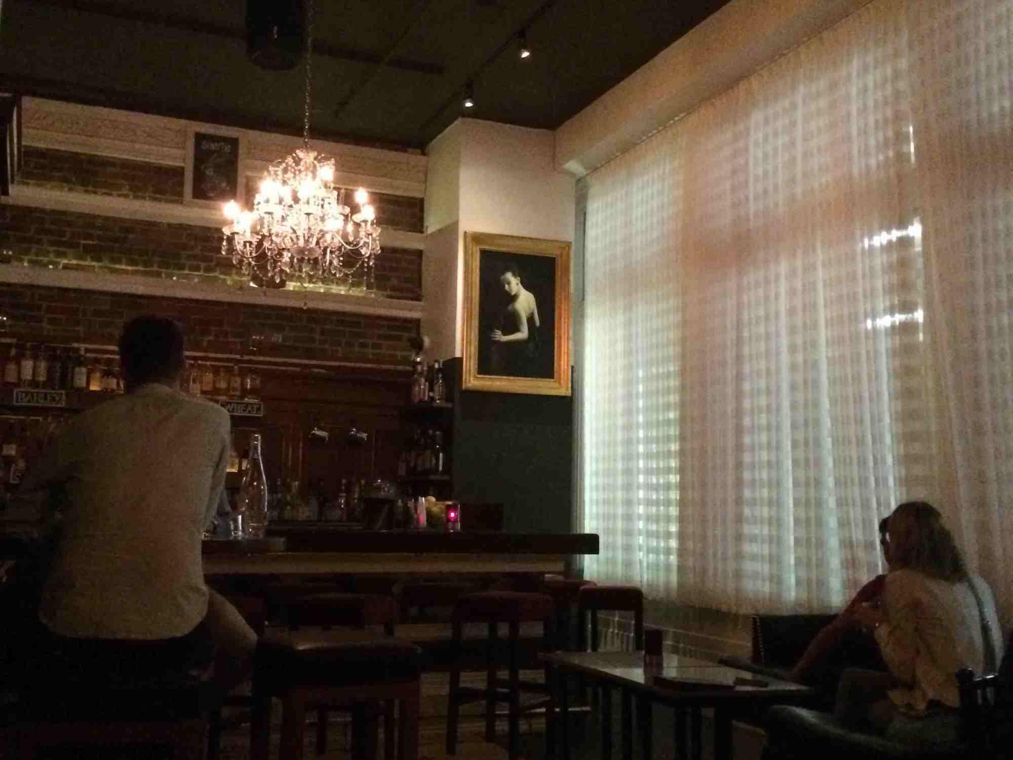 Bar im Mystic Hotel