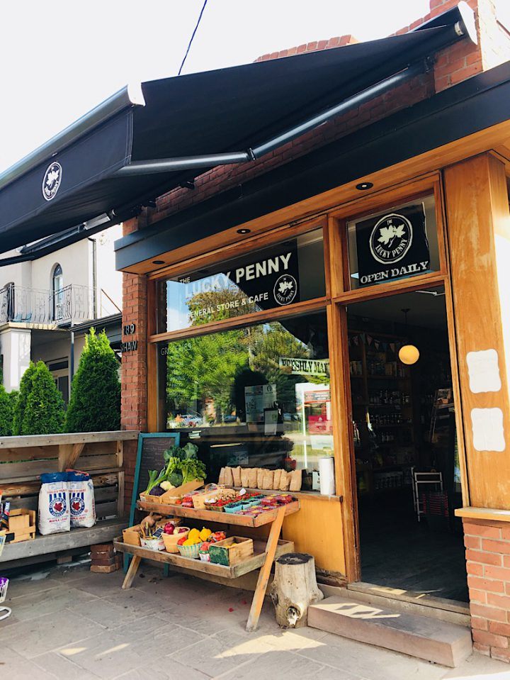 Lucky Penny – Café und Laden