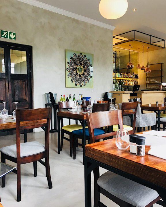 Südafrika, Franschhoek, Winelands, Reubens, Restaurant, Innen