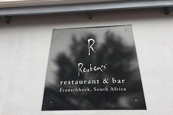 Südafrika, Franschhoek, Winelands, Reubens, Restaurant und Bar